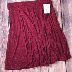 Fall Lularoe Madison Skirt Large NWT